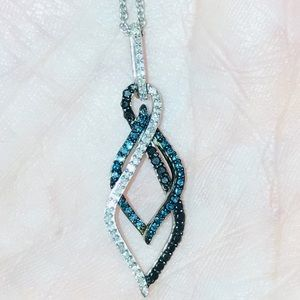 Jewelry - ❌❌❌SOLID❌❌❌❌FANCY BLUE AND BLACK. WHITE DIAMOND